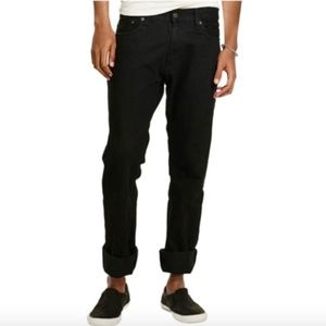Denim & Supply Bedford Straight Black Jeans